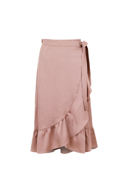Mika Solid Skirt Dusty