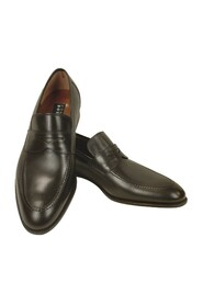 Calf Leather Penny Loafer Shoes