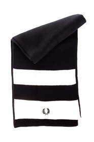 FRED PERRY C7143 Scarf Men BLACK