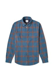 Flannel Check Tailored Fit Shirt
