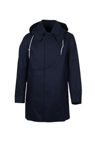 Coat with Hood Navy