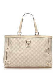 Pre-owned Guccissima Abbey D-Ring Tote Bag