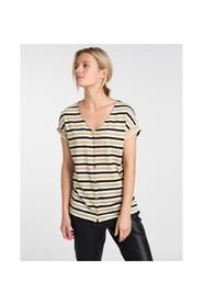 Top Mek in Black Stripes