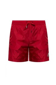 Logo-appliquéd swim shorts