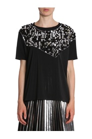 T-SHIRT WITH SEQUIN INSERT