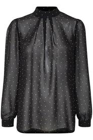 Soaked in Luxury Aggie Dot Top