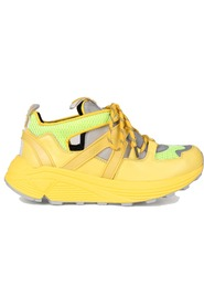 Ganni Tech Sneakers Yellow
