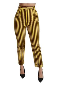 High Waist Skinny Trousers Pants