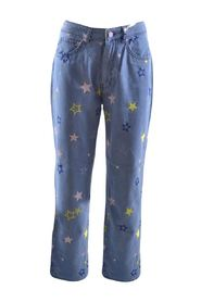 denim jeans trousers with stars