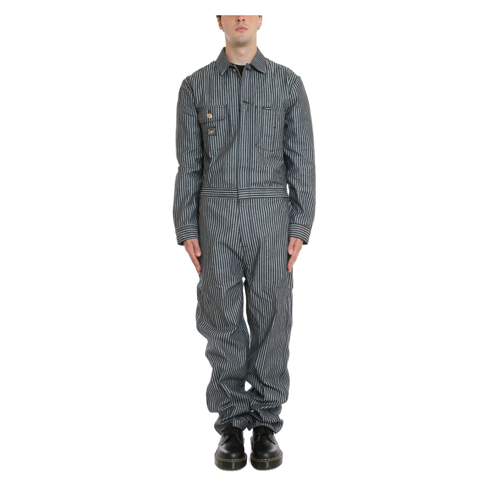 Workwear Stripe Whizzit Overall