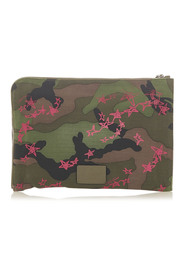 Camouflage Canvas Clutch Bag