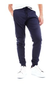BIKKEMBERGS C10962CM4121 Pants Men BLUE