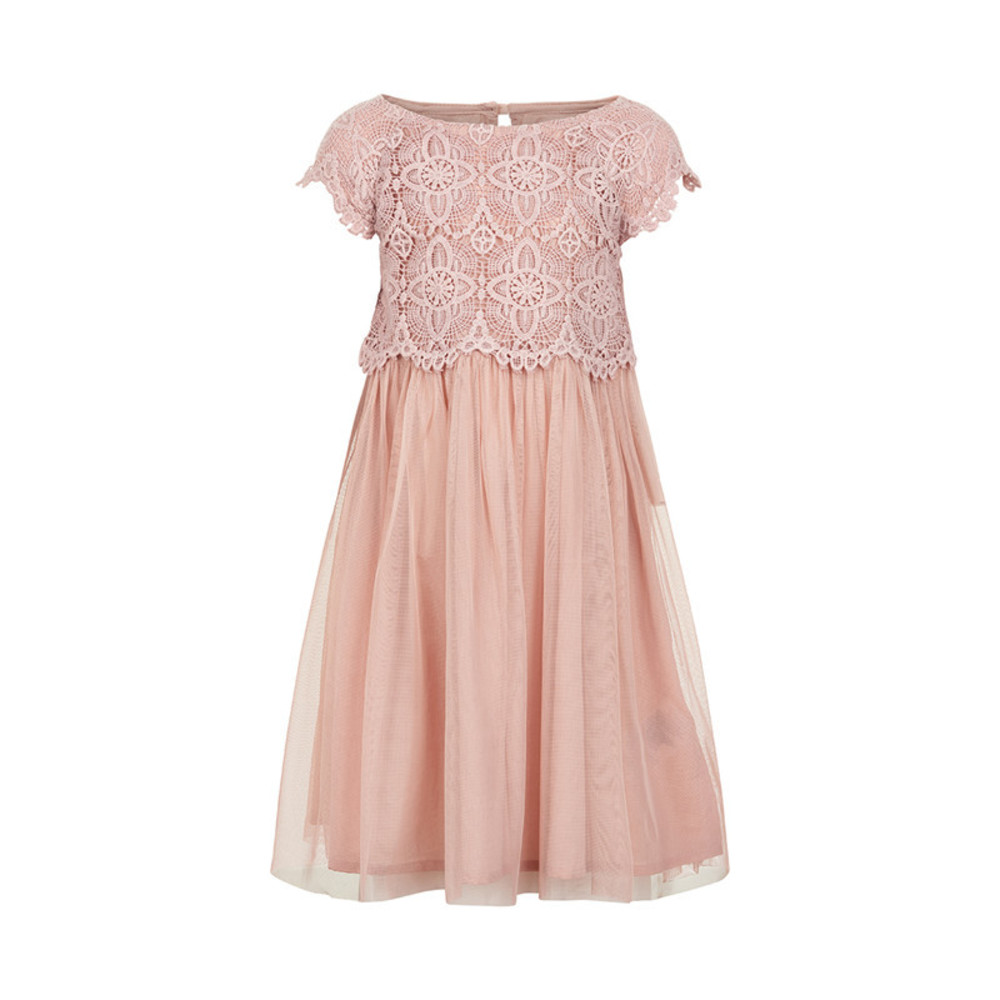 Creamie Dress Lace Top Deauville Mauve