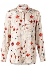 YAYA - Blouse With flower print and front pocket - Shell Design