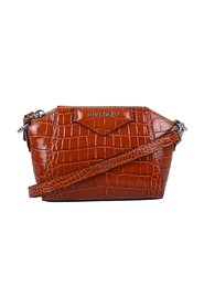 Antigona nano crocodile print bag
