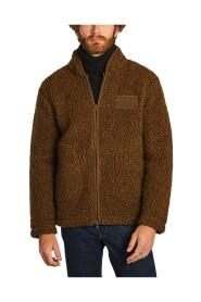 Morten high collar fleece jacket