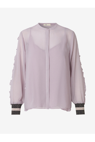 Claudia solid blouse - Levete room