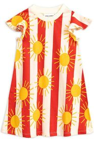 Sun Stripe AOP Wing Dress