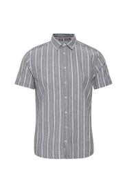 Kortermet Stripet Skjorte Linkvalite