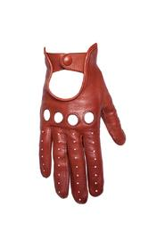Women's leather glove in leather
