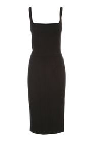 SLEEVELESS TUBINO DRESS