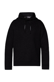 Logo-embroidered hoodie