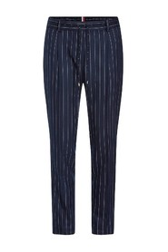 CHALK-TROUSERS WITH ELASTIC WAIST