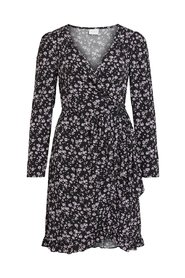 Wrap dress Floral long sleeved