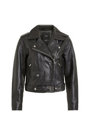 BIKER LOOK LEATHER JACKET