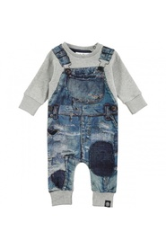 Freddy japanese denim romper