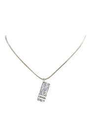 pre-owned Pendant Necklace Metal Brass
