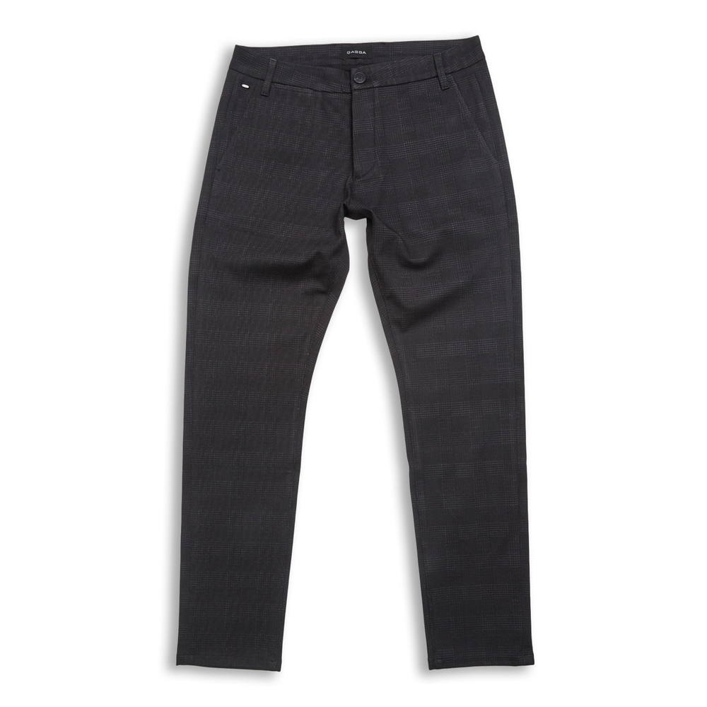Jones Chino Black Check