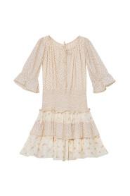 Bohemian Smocking Dress