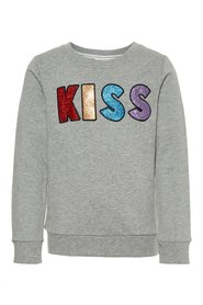 Sweatshirt glittery applique