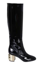 DG-Heel Knee-Length Boots
