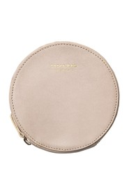 Purse leather with brass details