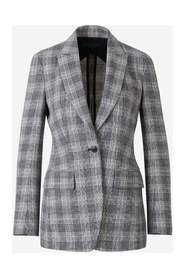Prince of Wales Linen Blazer