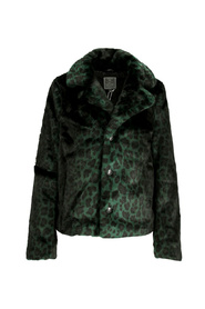 Short coat printed fur 98509-11