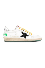 BALLSTAR LEATHER UPPER AND SPUR SUEDE STAR