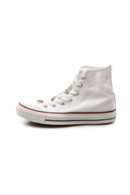 Hvit Converse Optical White Hi Tøysko, BN 2188