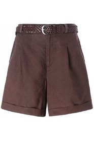 Brun Close To My Heart Lacy Shorts Sommerklær