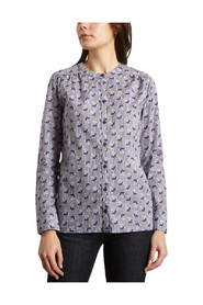 Poplin Cotton Floral Shirt