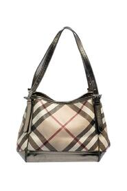 Pre-owned Nova Check PVC and Patent Leather Small Canterbury Tote