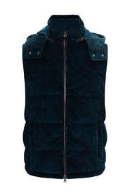 Quilted down vest