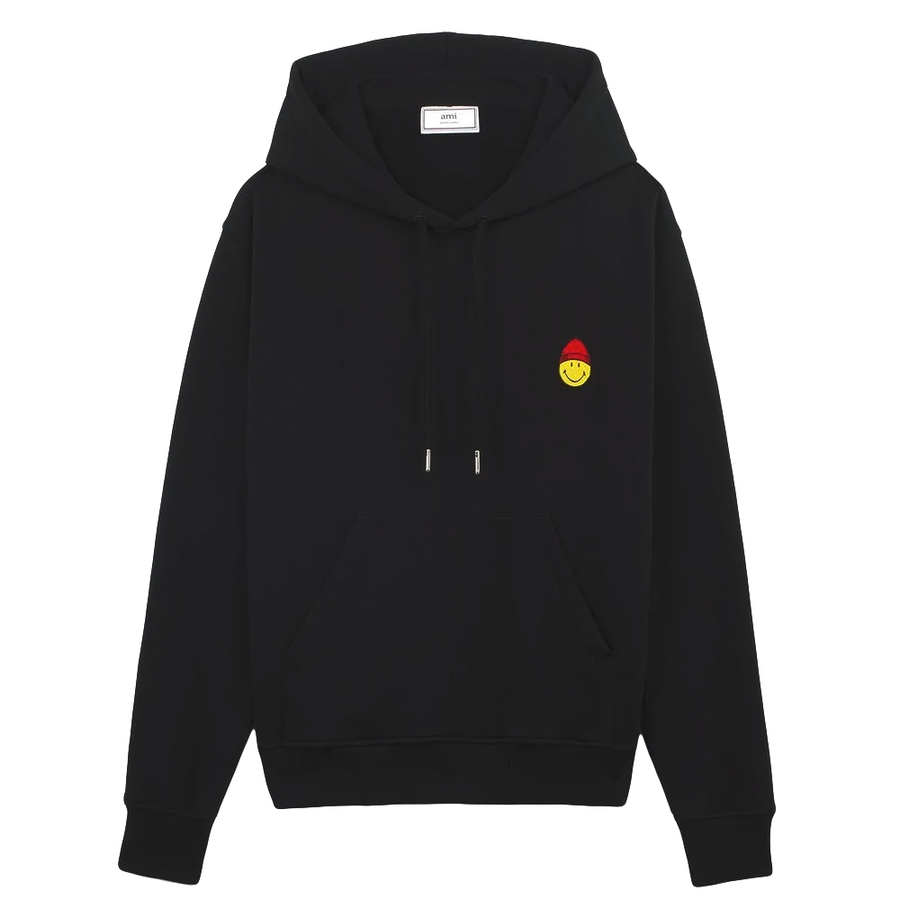 Smiley Patch Hoodie