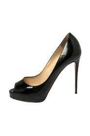 Patent Leather Very Prive Peep Toe Pumps