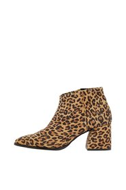 Ankle boots Leopard printed