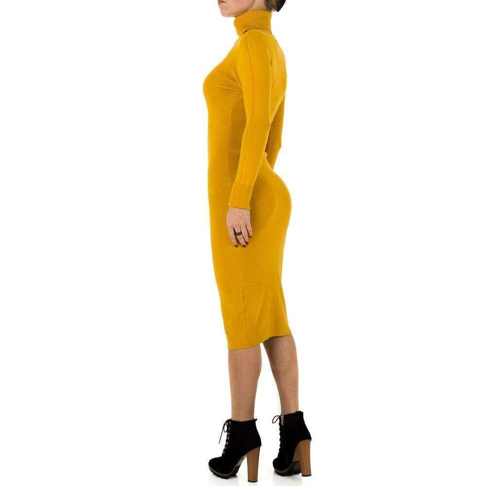 Yellow Kjole  SHK  Kjoler - Dameklær er billig
