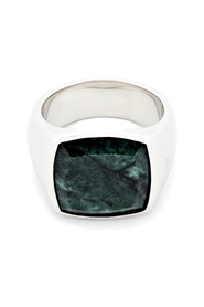The Cushion Marble Ring