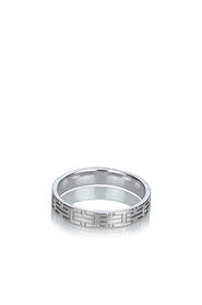 White Gold Kilim Ring